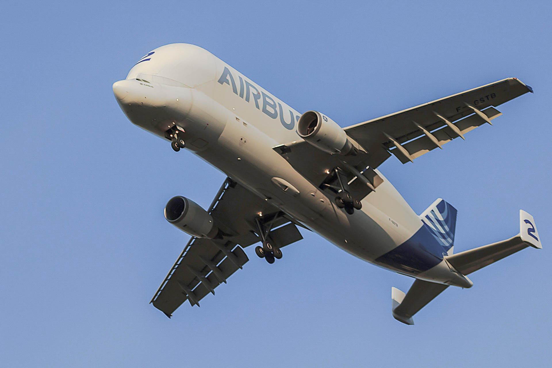 Aeronautique Beluga 2 d'Airbus -Agnes Briand Photographe